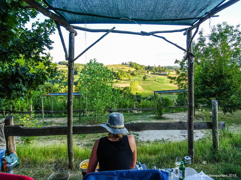 Piemonte kamperen